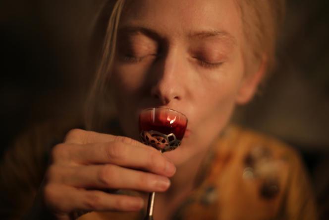 Tilda Swinton dans le film américain de Jim Jarmusch,