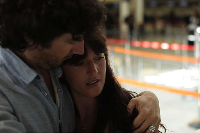 Damien Roussineau et Cendrine Genty dans le film français d'Emmanuel Saada,