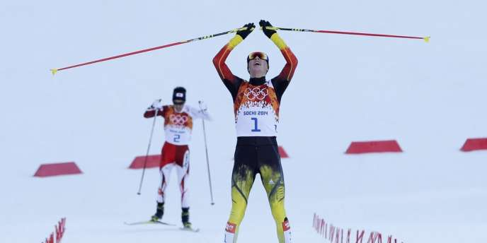 Eric Frenzel, nouveau champion olympique du combiné nordique.