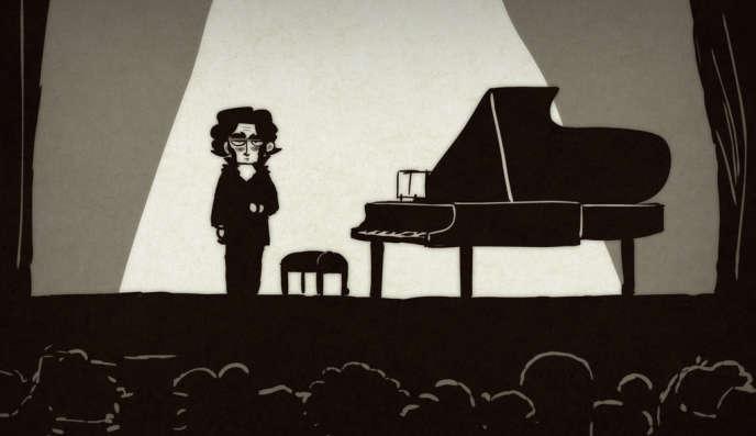 Une image du programme français, polonais, belge et norvégien de trois courts-métrages d'animation,