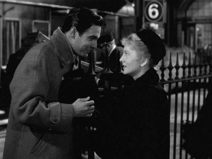 Louis Jourdan et Joan Fontaine dans le film allemand de Max Ophuls,