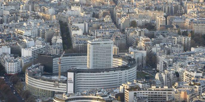 Le siège de Radio France à Paris, en décembre2013.