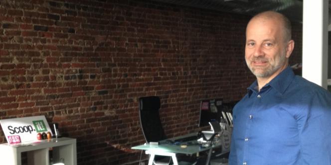 Marc Rougier, fondateur de la start-up Scoop.it.