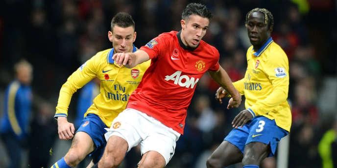 Robin van Persie sera aligné au sein de l'attaque mancunienne mercredi face à Arsenal.