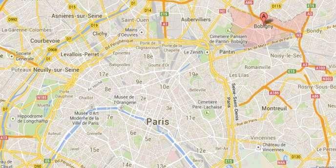 Un incendie s'est déclaré dans un camp de Roms à Bobigny, en Seine