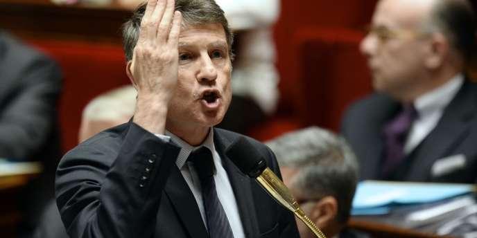 Vincent Peillon, lors des questions au gouvernement, le 11 février 2014.