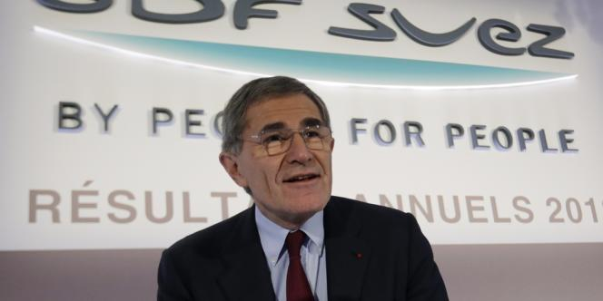 Gérard Mestrallet, patron de GDF Suez, a obtenu le feu vert des autorités américaines pour exploiter le site de Cameron Parnish.