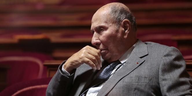Le sénateur UMP Serge Dassault, le 20 décembre 2012 au Sénat.