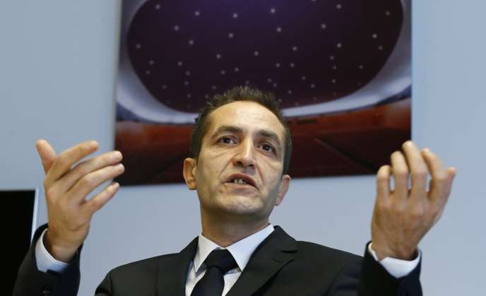 L'acteur bosniaque Nazif Mujic lors d'une conférence de presse à Berlin, le 7 février 2014.