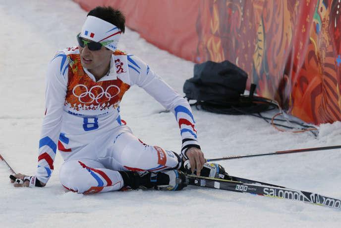 Jason Lamy Chappui, 35e au combiné nordique, le 12 février.
