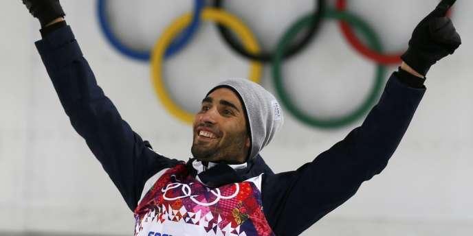 Martin Fourcade est devenu à Sotchi le premier français double champion olympique dans une même édition des JO d'hiver depuis Jean-Claude Killy en 1968.