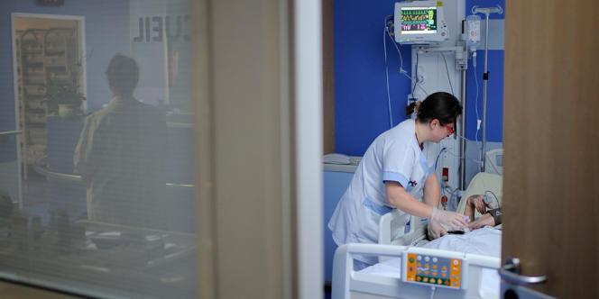 A l'hôpital d'Angers, en octobre 2013.