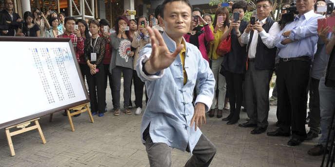 Jack Ma, le patron d'Alibaba.