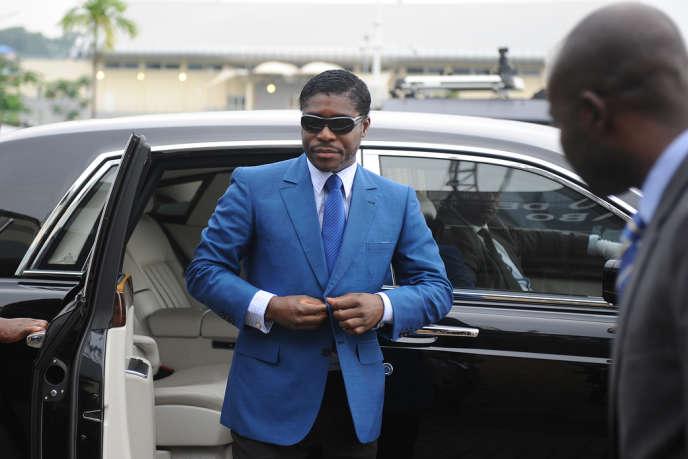 Teodorin Nguema Obiang, le fils du président de Guinée équatoriale, le 24 juin 2013.