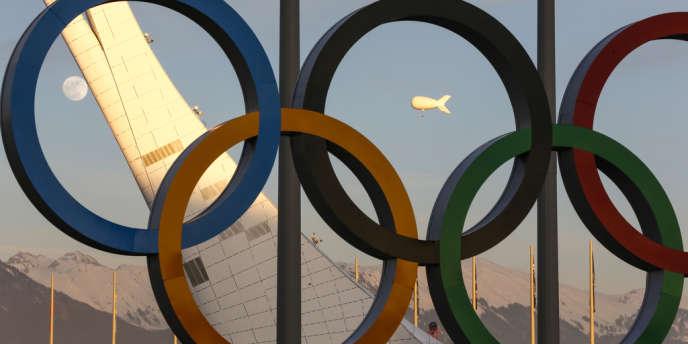 Sur le site des Jeux olympiques de Sotchi, le 13février.