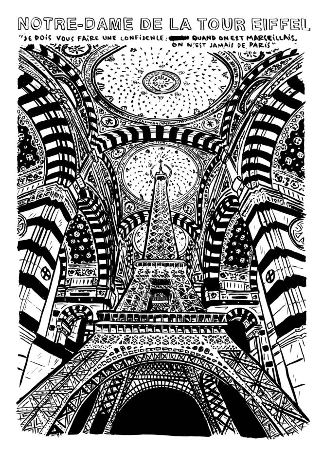 L'Association des Marseillais de Paris illustrée par Artus de Lavilléon.