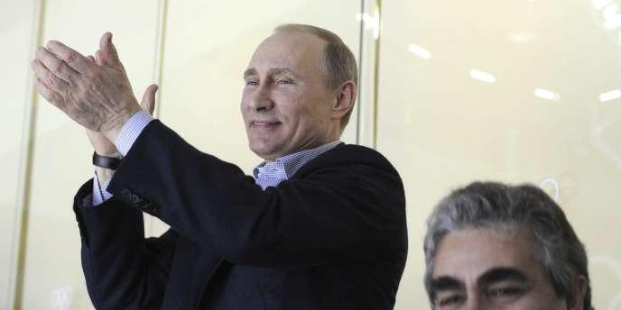 Le président russe, Vladimir Poutine, à Sotchi, le 15 février.
