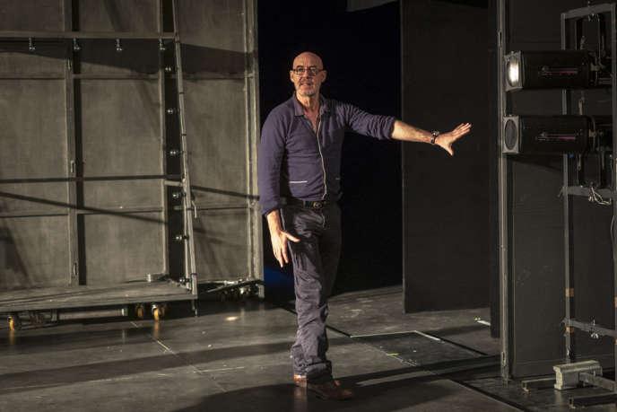 Eric Lacascade au Théâtre national de Bretagne à Rennes.