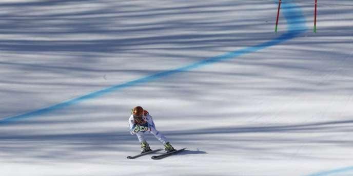 Anna Fenninger est devenue à 24 ans championne olympique du super-G.