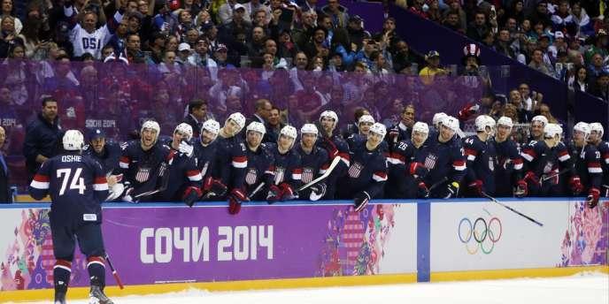 Le héros des tirs au but s'appelle T. J. Oshie pour les Etats-Unis face à la Russie.