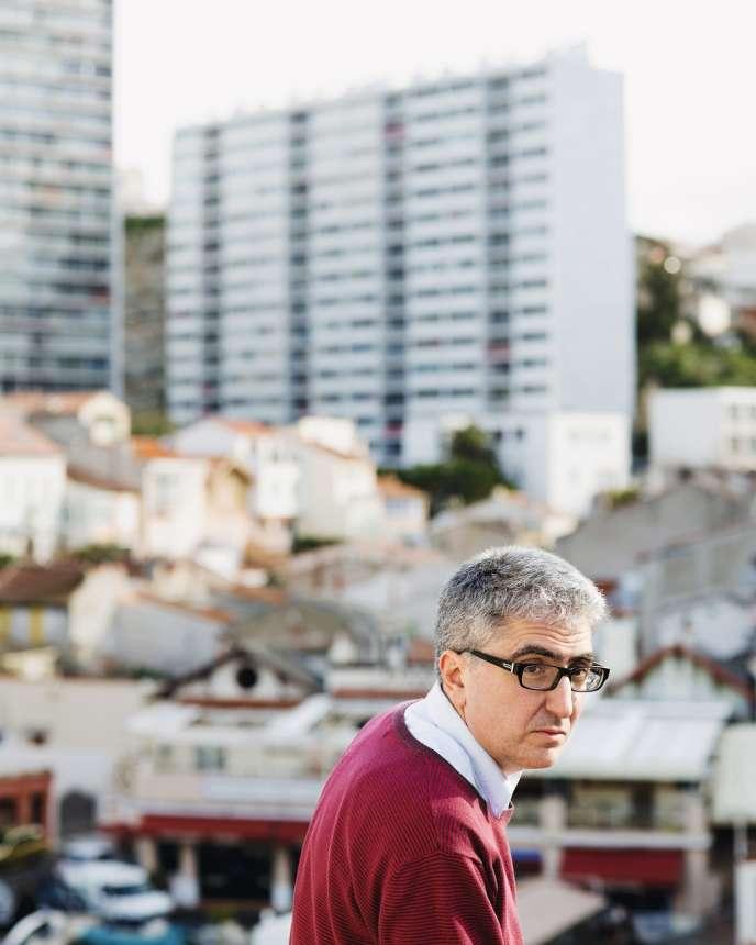 David Gaussen à Marseille, le 4 février.