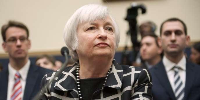 Janet Yellen, nouvelle présidente de la Réserve fédérale américaine, le 11 février à Washington.