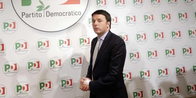 Matteo Renzi, chef du gouvernement pressenti en Italie.