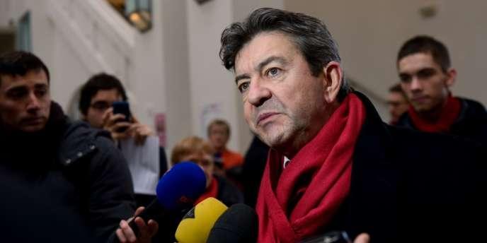 Jean-Luc Mélenchon, coprésident du Parti de gauche.