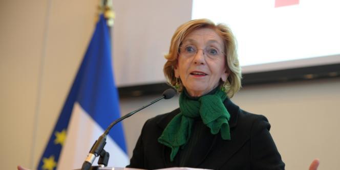 La ministre du commerce extérieur Nicole Bricq, enfévrier 2014.