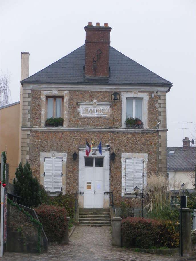 La mairie de Janvry, dans l'Essonne.