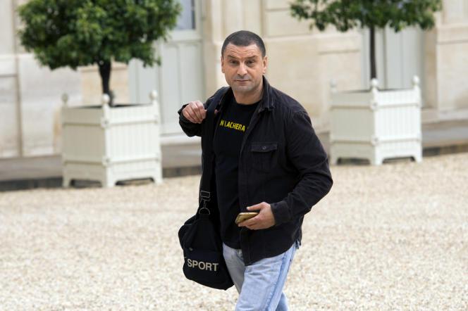 Mohamed Mechmache, fondateur d'AC le feu, le 24 juin 2013.