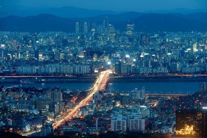 Séoul, le 4 février.