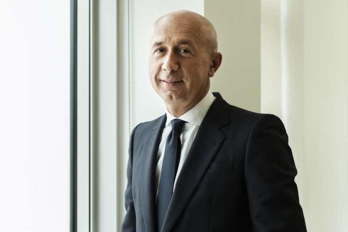 Marco Bizzarri dans son bureau de Milan, le 12 février.