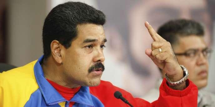Nicolas Maduro, le 16février.