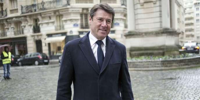 Le maire LR de Nice, Christian Estrosi.
