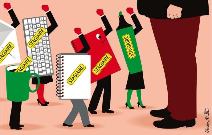 Les stagiaires vont obtenir des droits étendus, des indemnisations revalorisées et des prérogatives semblables à celles de leurs collègues salariés.