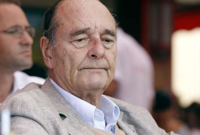 Jacques Chirac, le 14 août 2011 à Saint-Tropez.