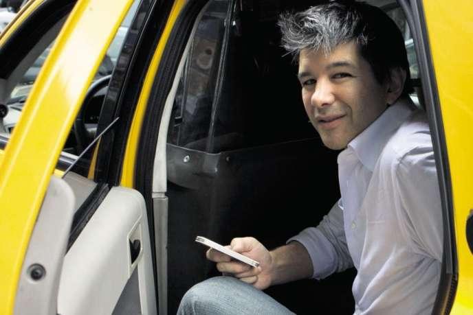 Travis Kalanick, le PDG d'Uber, en septembre 2012, à New York.