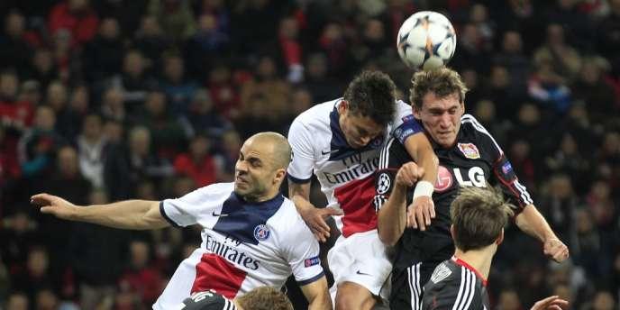Le PSG a battu le Bayer Leverkusen, le 18 février.