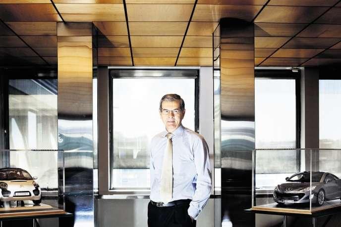 Philippe Varin, président du directoire de PSA.