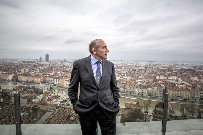 Gérard Collomb, à Lyon le 21 janvier.