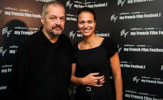 Jean-Pierre Jeunet, président du jury, et Isabelle Giordano, directrice générale d'Unifrance Films, lors de la 4e édition de MyFrenchFilmFestival.