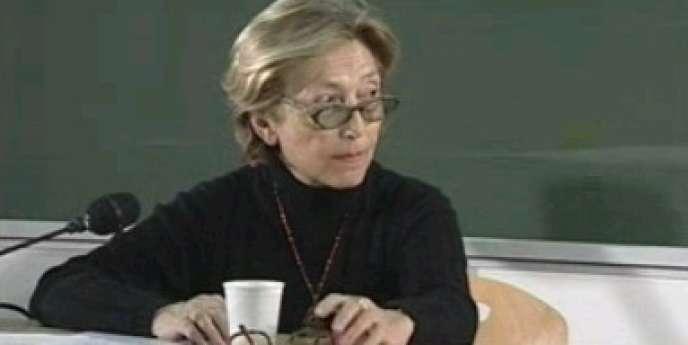 Ginette Raimbault en 2000