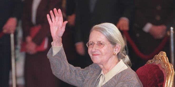 Geneviève de Gaulle-Anthonioz, le 16 février 1998.