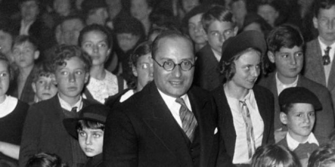 Jean Zay, ministre de l'éducation nationale sous le Front populaire.