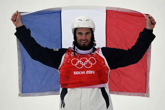 Pierre vaultier, vainqueur du snowboardcross, le 18 février.