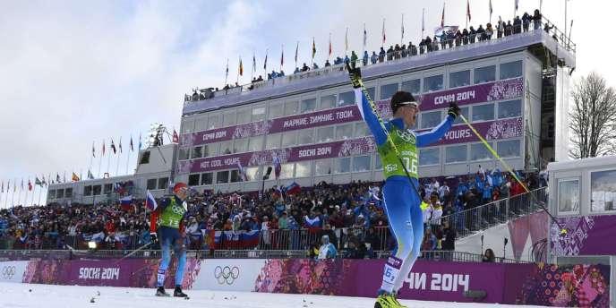 La Finlande a remporté l'épreuve par équipes de sprint en ski de fond.