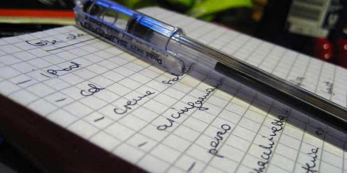 Que seraient nos mémoires défaillantes sans les listes dont nous les épaulons ?