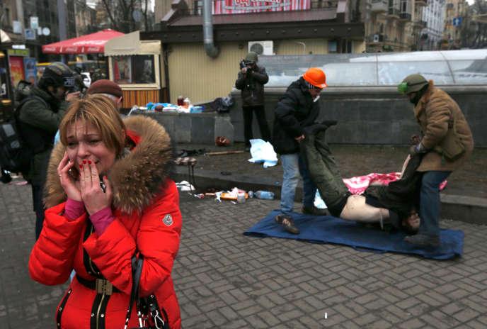 Jeudi 20 février a été la journée la plus meurtrière depuis le début de la crise politique en Ukraine.