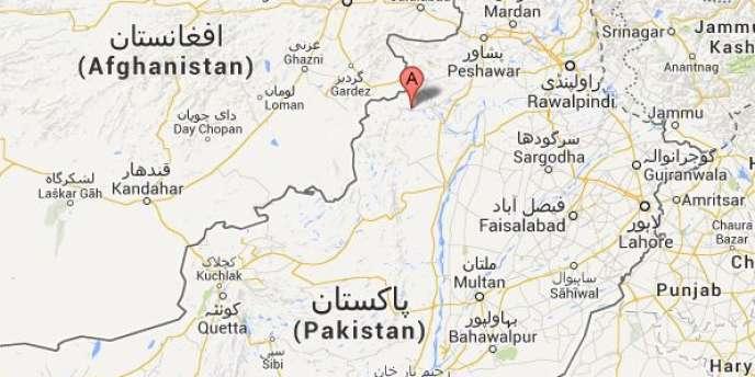 La zone ciblée par les frappes était Mir Ali et les zones voisines, dans le Waziristan du Nord.